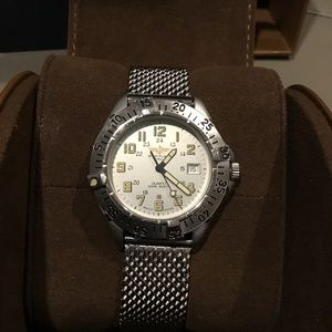 Breitling Colt Stainless Steel Quartz Watch